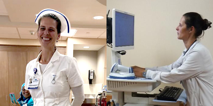 RN to BSN online program helped Amorita Ghraib overcome struggles to realize her dream