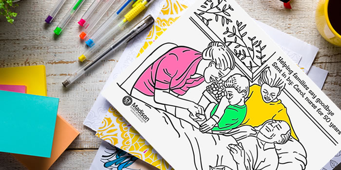 A New Way for Nurses to Relieve Stress: Coloring